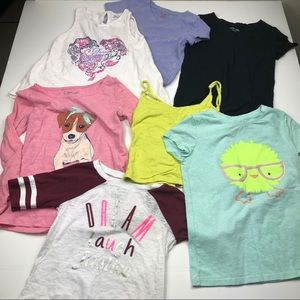 Girls size 6/6x Bundle Lot tops Justice EUC